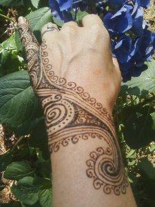 spiral hand