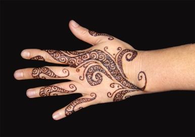 Atlanta Swirl Henna