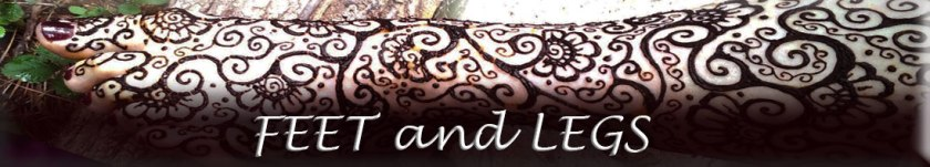 Atlanta Henna Foot and Leg Photo Gallery