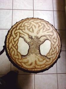 tree of life drum