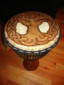 tree of life drum