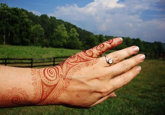 henna for engagement celebration