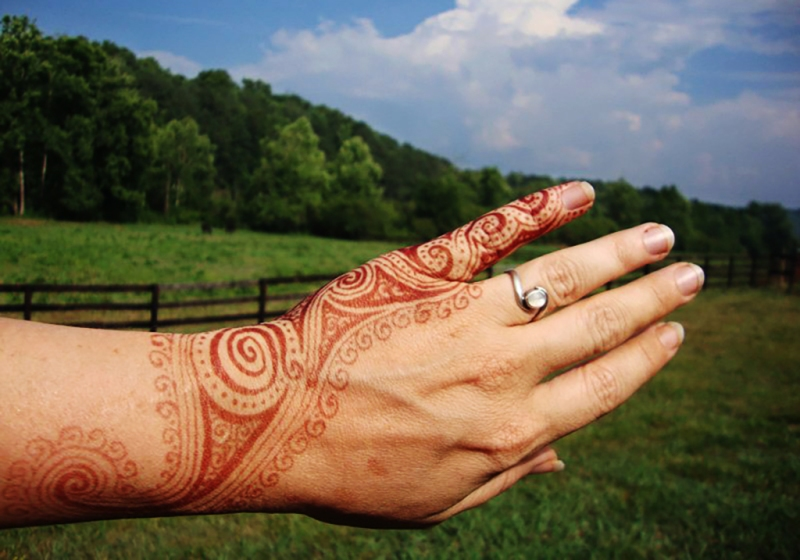 henna for engagement celebration
