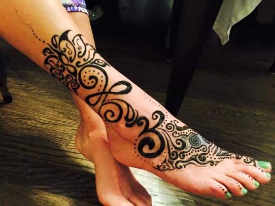 lotus blessing henna