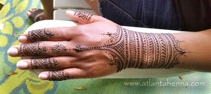 Atlanta Henna Arm Band