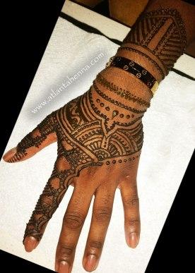 Atlanta Henna Bracelet