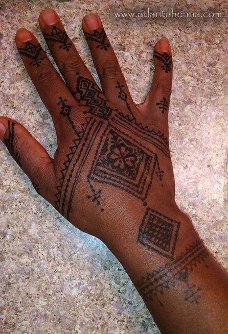 Atlanta Jagua Stain Hand
