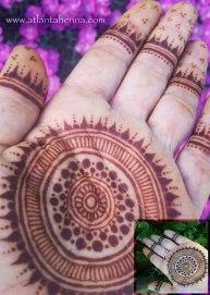 Henna Mandala Hand