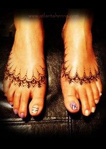 Henna Slippers