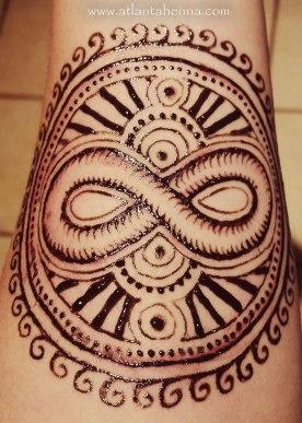 Jagua Infinity Mandala Arm