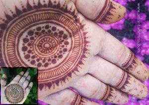 Henna Atlanta Mandala Hand