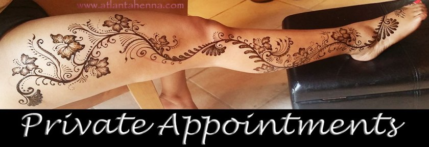 Atlanta Henna Private Appointments